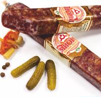Колбасы сырокопчёные