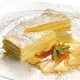 Торт Наполеон с кремом из пломбира